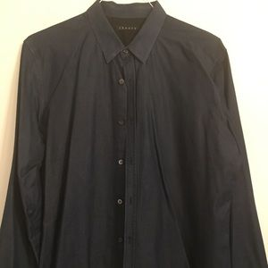 Theory denim button down